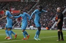 Sherwood's Spurs earn victory thanks to Adebayor brace