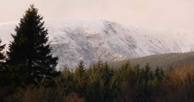 White Christmas? Snow reported in parts of Ireland today