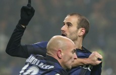 Magic moment from Palacio settles dour Milan derby