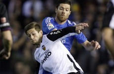 Xabi Alonso suffers perforated eardrum