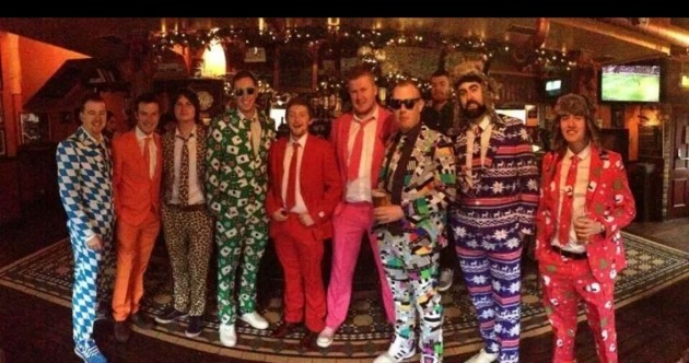 Now THIS is how you do the 12 pubs in style
