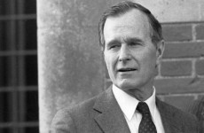 George H.W. Bush wanted to have a 'word in Thatcher's ear'