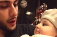 Uncle teaches his baby niece how to beatbox, with adorable results
