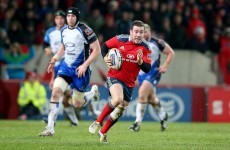 JJ Hanrahan is 'a talented kid' - Munster coach Rob Penney