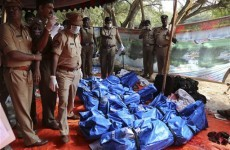 Express train fire in India kills at least 26 people