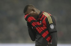 Why always him? Milan deny Mario Balotelli sale rumours