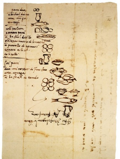 This is what Michelangelo's weekly shop in 1518 looked like