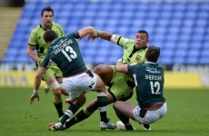 Exiles lose despite tries from Irish centres Sheridan and Mulchrone