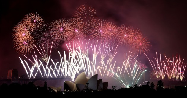 Countries welcome 2014 with fireworks and celebrations