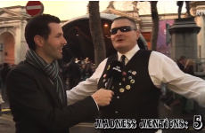 OK, this man interviewed in Dublin REALLY likes Madness