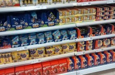 Tesco are already selling Easter eggs on January 1