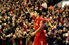 Suarez puts Liverpool back on track with another ridiculous free-kick
