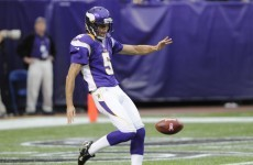 Former Vikings kicker claims he was cut by 'bigot' coach for supporting gay rights