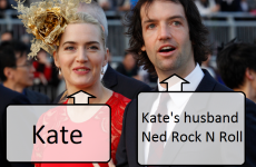 "Kate Winslet not giving baby stupid name because she's a ""f**king grown up""... It's The Dredge"