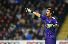 VIDEO: Another Man City goalkeeping blunder gifts Blackburn a goal