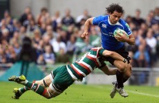 Leinster's Nacewa in line for two top honours