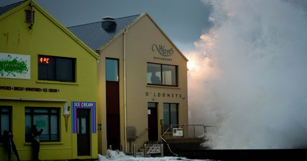 Pictures: More flooding in Galway, Cork & Waterford as stormy weather continues