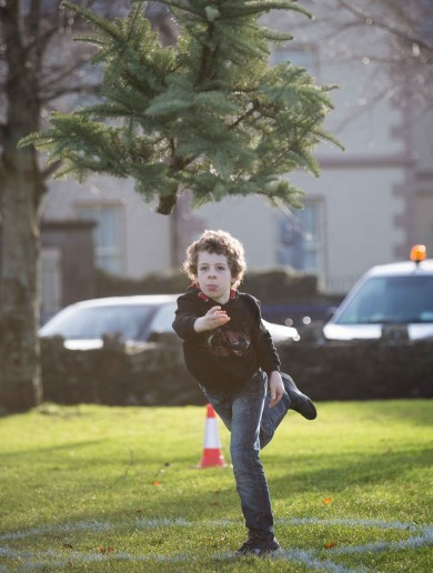 The Irish Christmas Tree Throwing Championship was an epic occasion