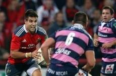 Murray making case for Munster's Gloucester trip, Zebo back in training too