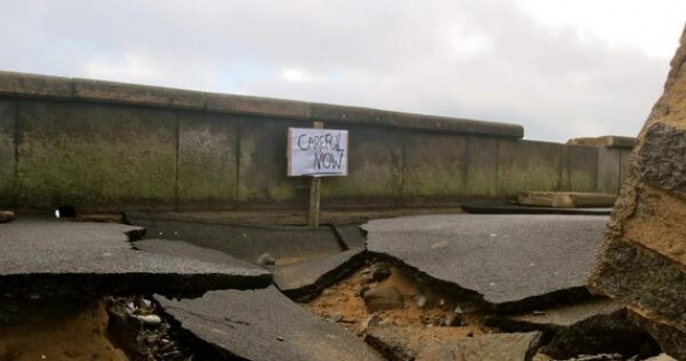 Co Clare boasts the most appropriate 'careful now' sign ever