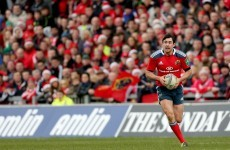 Felix Jones distinguishing himself in a Munster squad full of leaders