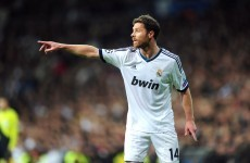 Xabi Alonso puts his feet up at Madrid with new two-year deal