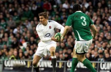 Toby Flood omitted from England's Six Nations squad