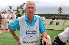 Irish photographer steps in to save the day after Harrington's caddie falls ill
