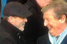 Everton go fourth as Roy Keane and Roy Hodgson look on