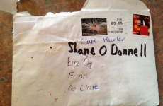 So this is how letters are addressed to Shane O'Donnell these days
