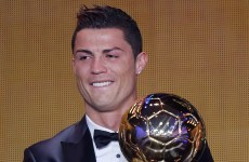 Ronaldo wins Ballon d'Or to end Messi's run at four