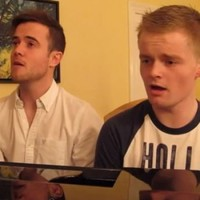 Three Irish lads' tear-jerking version of the Friends theme tune