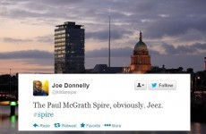 Here's what Twitter thinks the Dublin Spire should be named after