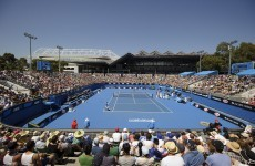 British man arrested for courtside betting at Australian Open