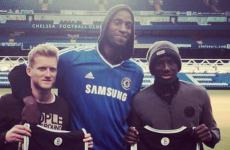 Does this mean Kevin Garnett is a Chelsea fan now?