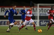 Former Ireland U17 star tipped to be 'the next Jack Wilshere'