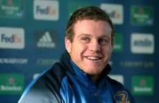 Cronin: Five-day turnaround was 'actually not too bad' for Leinster