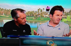 Nick Faldo has developed magical powers since retiring from golf