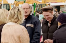 Irish lad hits the Ploughing Championships to pick up some farmers