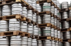 How many kegs of beer have been stolen since 2007?