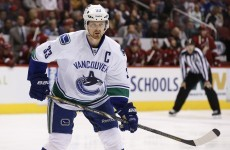 Henrik Sedin has played 679 consecutive NHL games. He's not playing tonight.