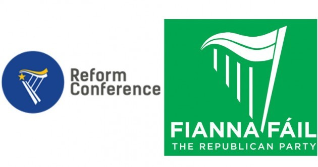Creighton insists RA conference logo is 'hardly original' amid Fianna Fáil comparisons