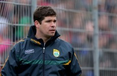 Eamonn Fitzmaurice links up with ex-teammate Griffin to manage Kerry school side