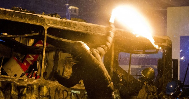 Two killed in Ukraine clashes