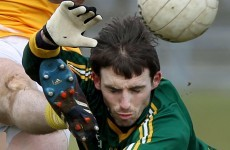 Kildare roots - but no divided loyalties - for Meath's Davy Dalton