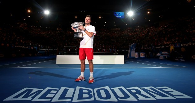 Wawrinka sees off Rafa rally to claim first Slam