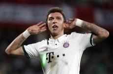 Man Utd target Mandzukic dropped by Bayern Munich for 'poor training'