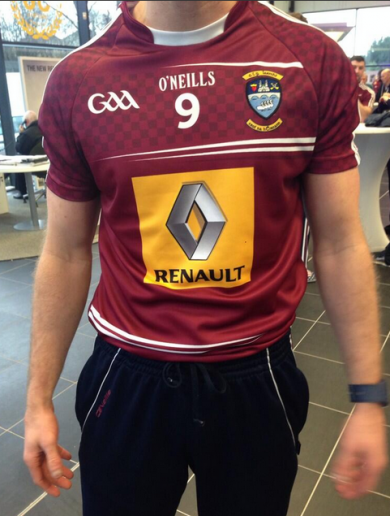 Snapshot: Here's the new Westmeath jersey