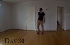Guy teaches himself to dance in a year, films it all