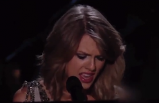 WATCH: Taylor Swift 'attacked' onstage during her Grammys performance